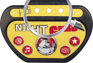 Night Guard security lights for bedwetting alarm